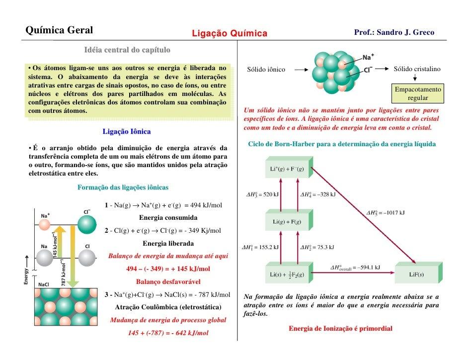 Química Geral                                                                                                Prof.: Sandro...