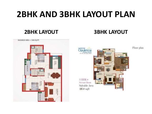 3bhk flats with servant room in sandwood opulencia mohali  Slide 3