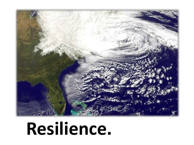Resilience.