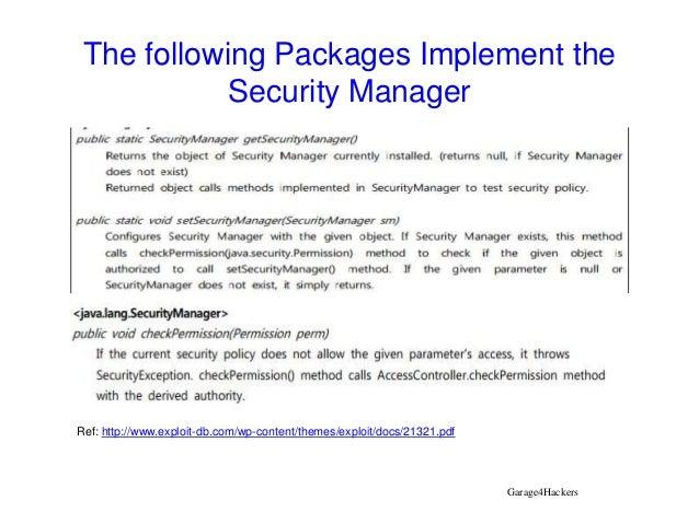 java sandbox security model pdf