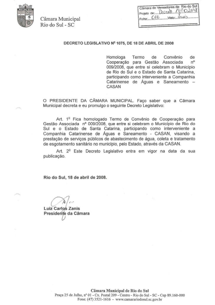 Contrato CASAN - Saneamento básico pdf