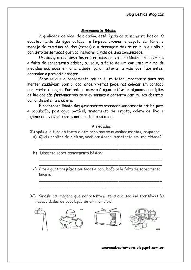 Preferência Saneamento Básico FU33