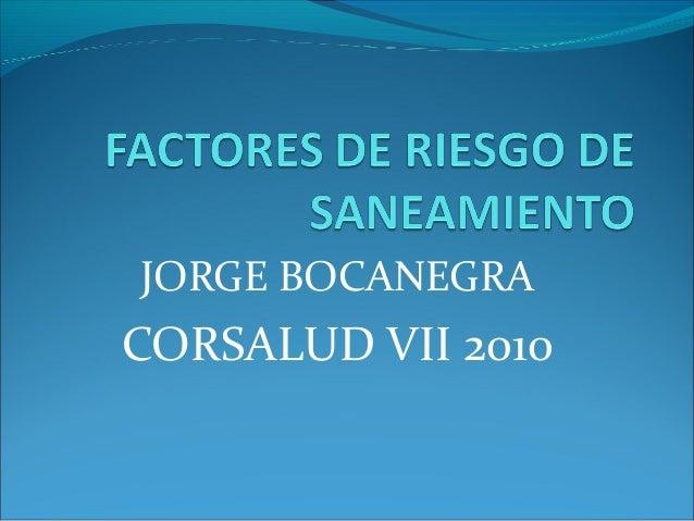 JORGE BOCANEGRA CORSALUD VII 2010