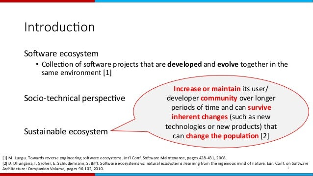 Socio-Technical Evolution of the Ruby Ecosystem in GitHub Slide 2