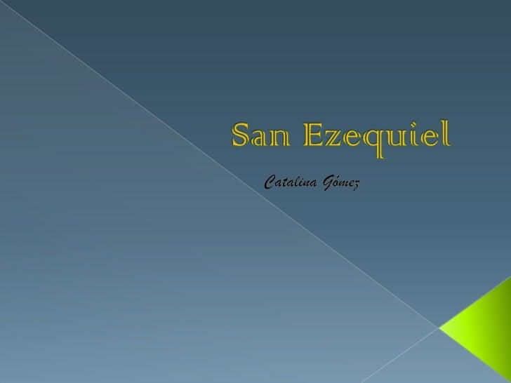    San Ezequiel Moreno y Díaz O.A.R. (Alfaro, 9 de    abril de 1848 - Monteagudo, Navarra, 19 de    agosto de 1906) fue u...