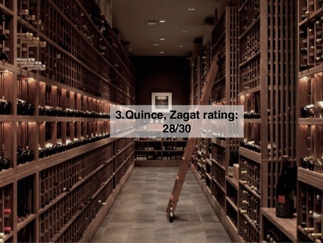 4. Acquerello, Zagat rating: 28/30