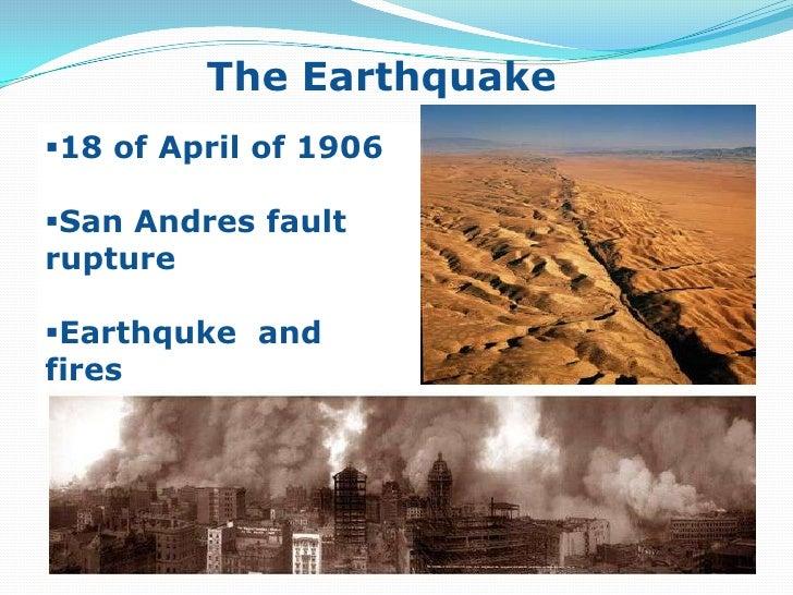 The Earthquake<br />