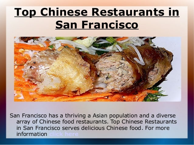 San Francisco Best Chinese Food