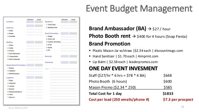 Sample Event Planning Proposal  BesikEightyCo
