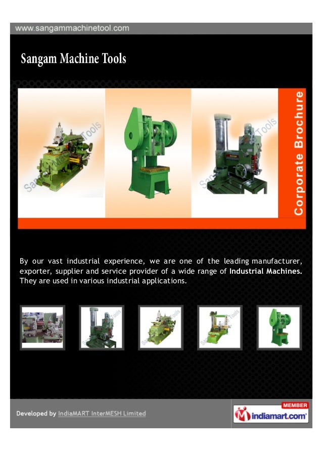 By our vast industrial experience, we are one of the leading manufacturer,exporter, supplier and service provider of a wid...