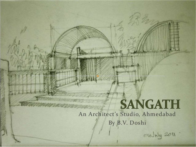 Sangath an architect 39 s studio for Studio v architecture