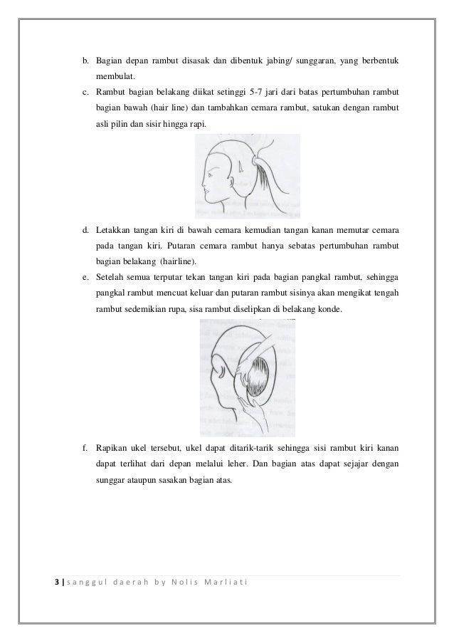 Sanggul tradisional Slide 3