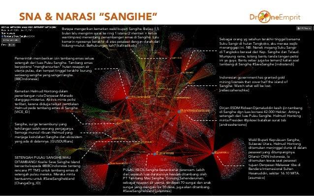"""SNA & NARASI """"SANGIHE"""" 4 Dirjen ESDM Ridwan Djamaluddin kasih ijin tambang di Sangihe dgn luas konsesi 42.000 Hektar. Arti..."""