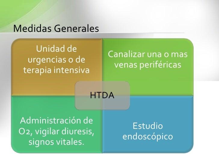 DESARROLLO<br />La etiología de la HTDB es variada y corresponde a numerosas patologíasde las cuales las más comunes son:<...
