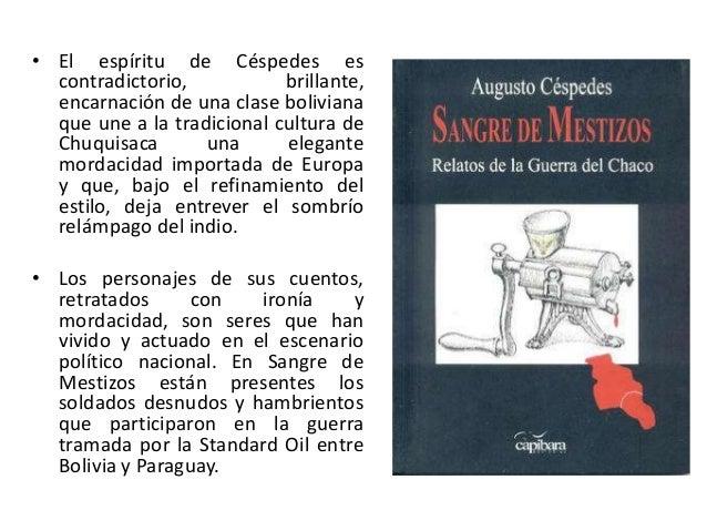 sangre de mestizos augusto cespedes pdf download