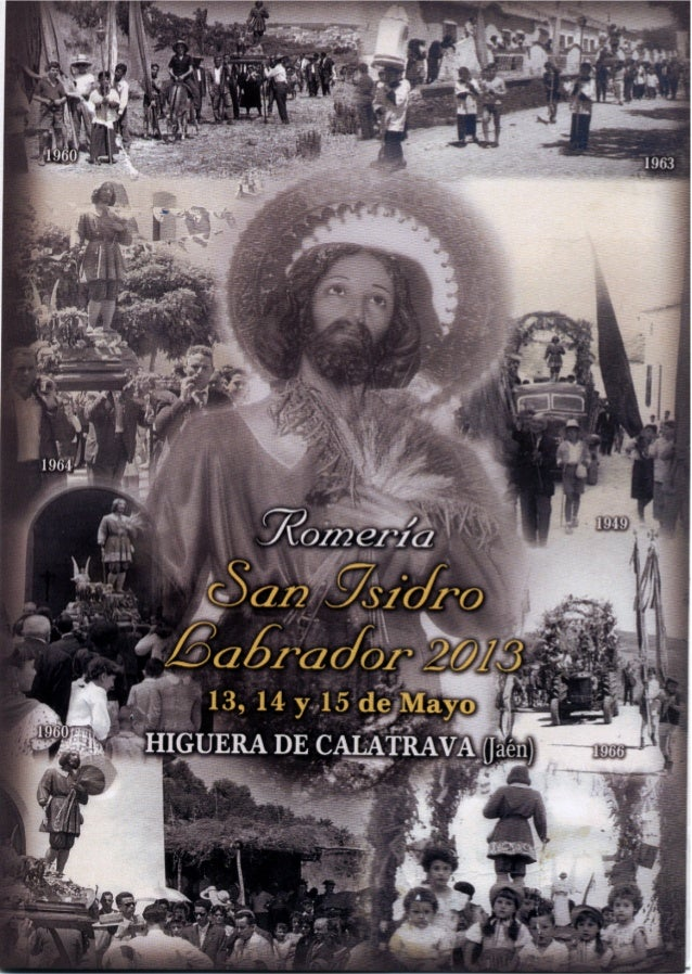 ROMERIA SAN ISIDRO LABRADOR HIGUERA DE CALATRAVA 2013