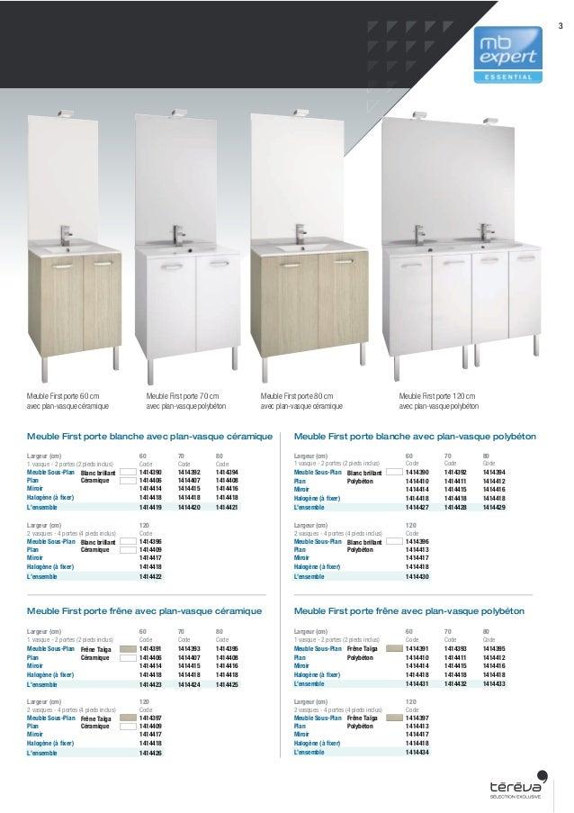 Sanitaire meuble salle de bains first - Vide sanitaire meuble cuisine ...