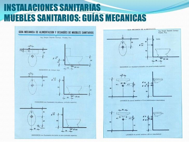 Instalacion sanitaria for Guia mecanica de cocina pdf