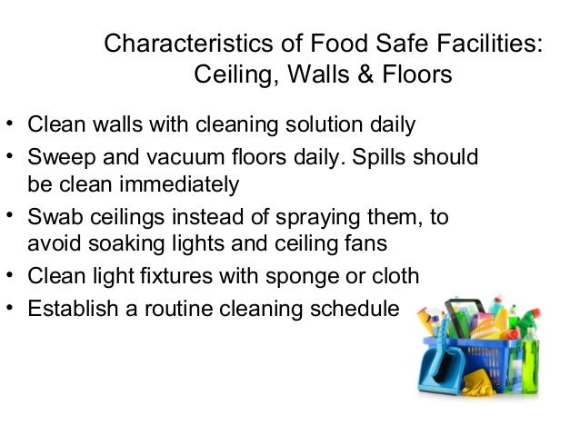 Sanitary facilities Slide 2