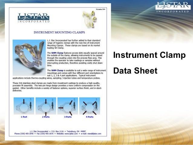 Instrument Clamp  Data Sheet