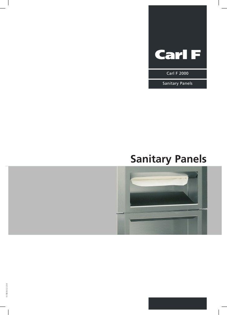 Sanitary panels Slide 2