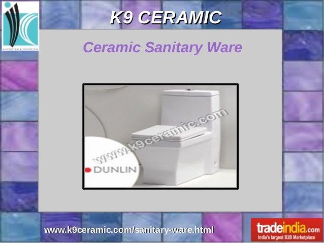 Sanitary Ware Exporter Manufacturer K9 CERAMIC Gujarat