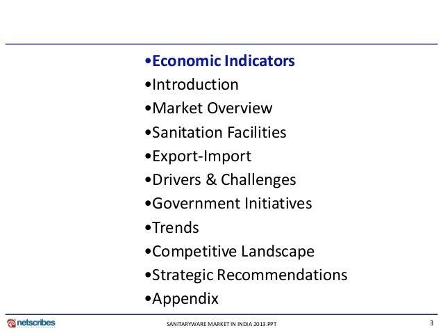 Market Research Report Sanitaryware Market In India 2013
