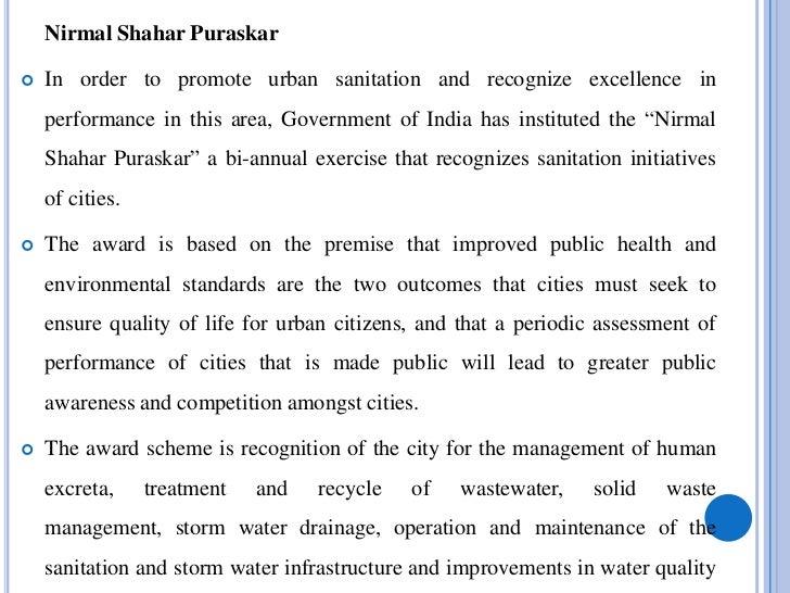 NIRMAL GRAM PURASKAR   Particulars         Population        Incentive                                        (Rs in lakhs...