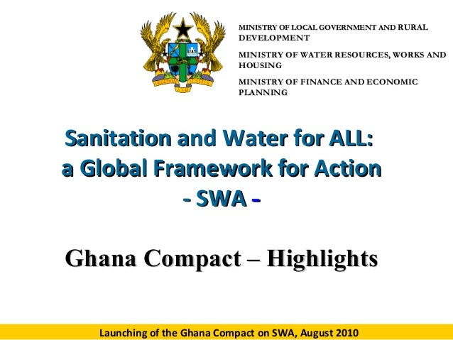 MINISTRY OF LOCAL GOVERNMENT AND RURAL  DEVELOPMENT MINISTRY OF WATER RESOURCES, WORKS AND HOUSING MINISTRY OF FINANCE AND...
