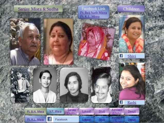 Sanjay Misra & Sudha                         Facebook Link                   Children                                     ...