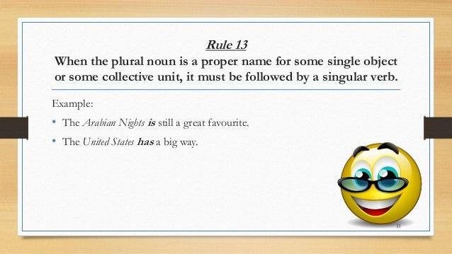 Plm english grammar subject verb agreement rule platinumwayz
