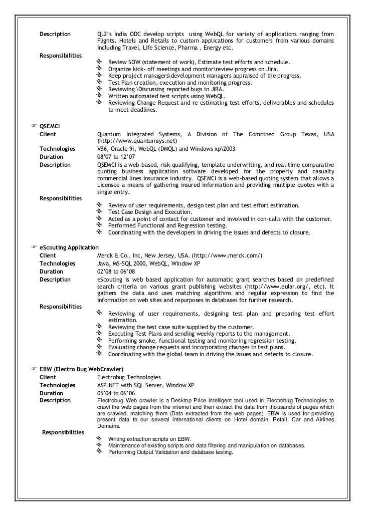 Awesome Test Estimation Template Photo - Professional Resume ...