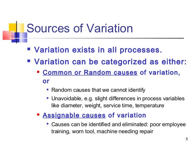 Common cause and special cause statistics  Wikipedia