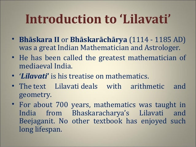 Image result for lilavati mathematician Indian photo images picture