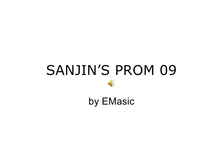 SANJIN'S PROM 09 by EMasic