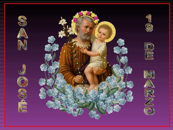 SAN JOSÉ 19 DE MARZO