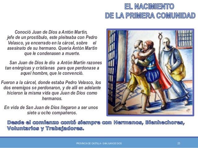 San Juan de Dios y la primera comunidad