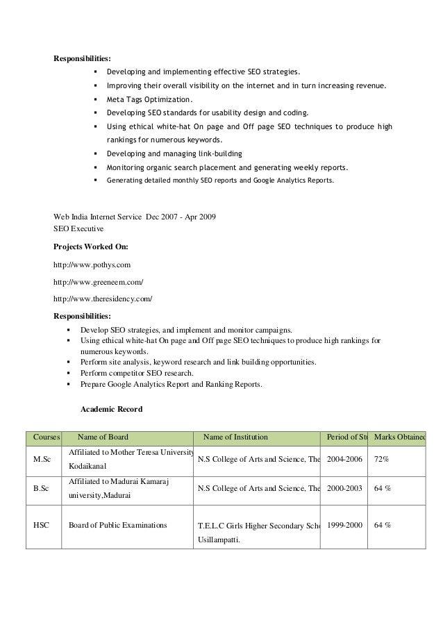 Naukri.com Resume Writing Services