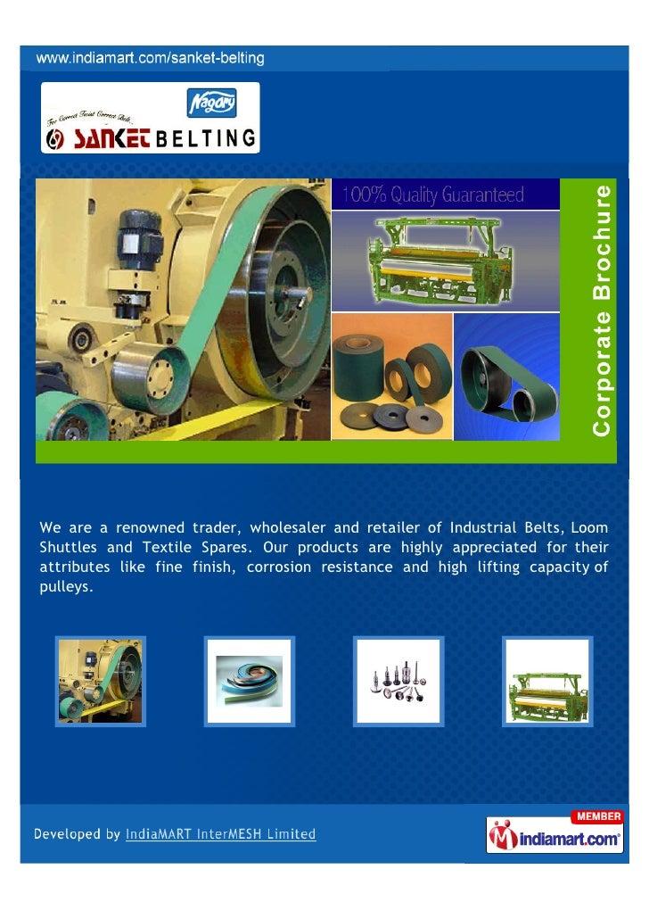 sanket belting  surat  industrial products