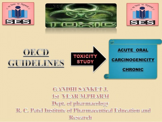  CONTENTS 2  INTRODUCTION TO TOXICOLOGY  OECD GUIDELINE FOR ACUTE ORAL TOXICITY  LD50  LD50/LC50  Methods to calcula...