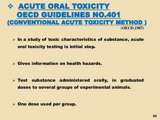Acute Oral Toxicity and Histopathological Study of ...