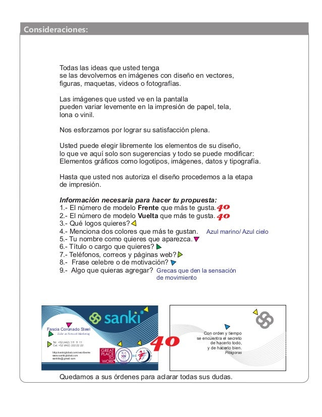 Sanki Tarjetas de Presentación Slide 2