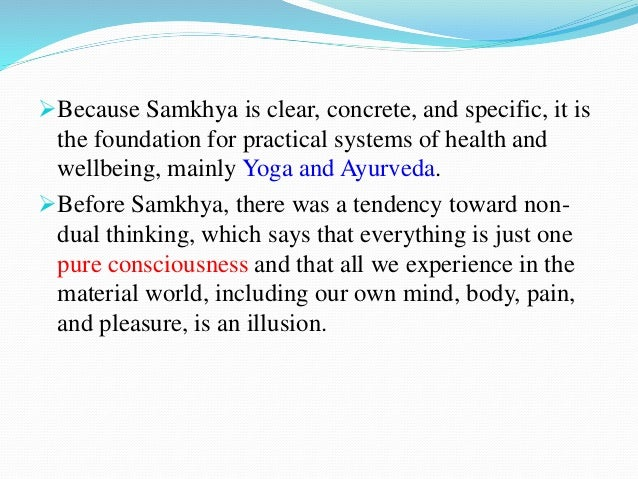 sankhya system