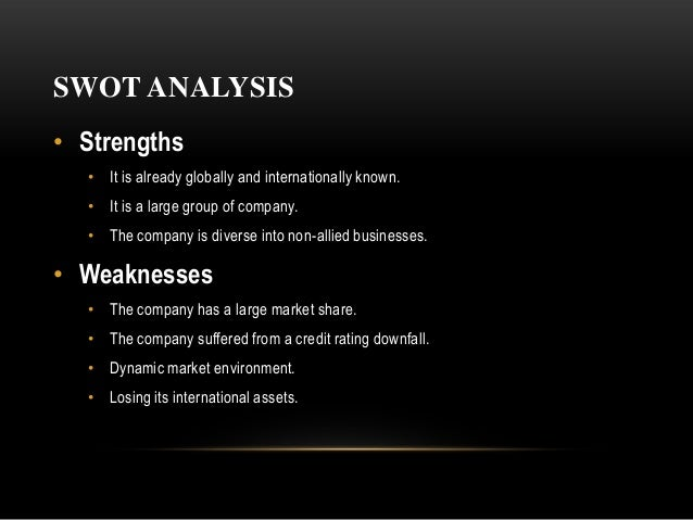 swot analysis of san miguel competitors San miguel corporation financial and strategic analysis review summary san   capitalize on competitors' weaknesses and target the market opportunities.