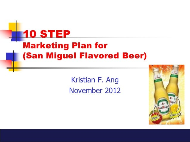Marketing Plan: San Miguel Cigarettes
