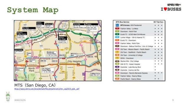 System Map 2020/10/25 9 MTS(San Diego, CA) IwBUSES https://www.sdmts.com/sites/default/files/attachments/rtm_sep2019_web_....