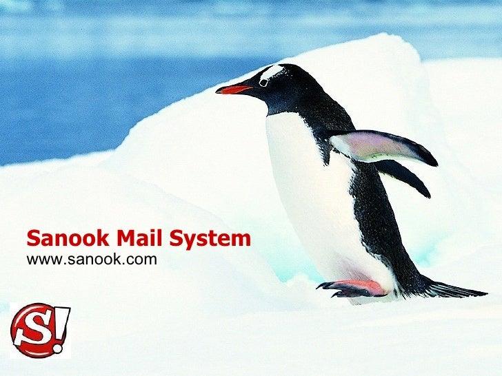 Sanook Mail System www.sanook.com