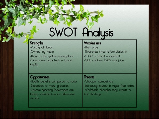 swot analysis on malt based health drinks Swot analysis of diageo company adam april 2, 2014 soft drink & beverage no comments swot analysis of diageo company which has been operating in beverage industry since 1997.