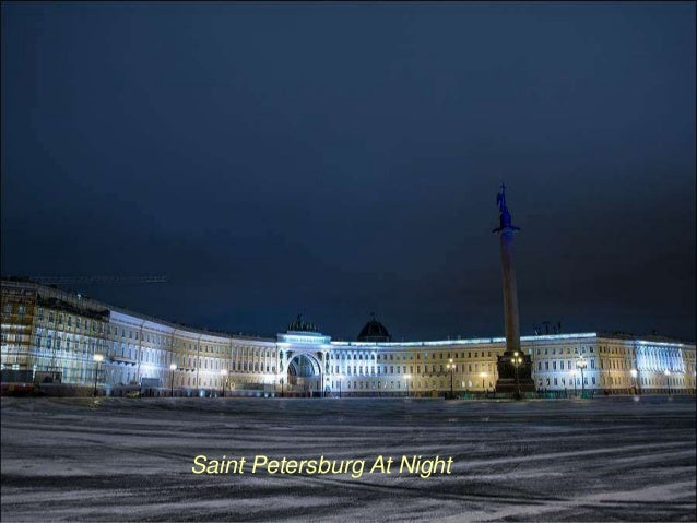Saint Petersburg At Night