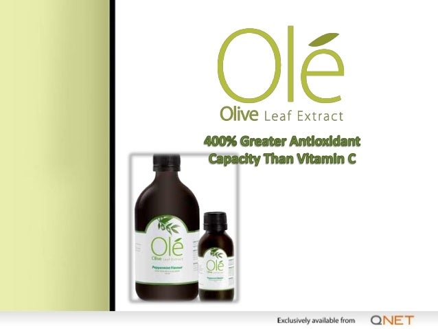Facts About Olive Leaf Extract • The natural defender of the immune system • A rich source of antioxidants (400% greater a...